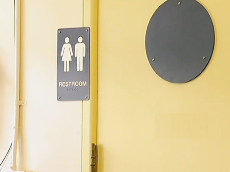 Gender-Neutral Bathroom At California Elementary School
