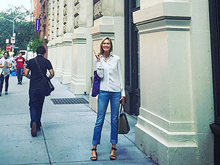 From Supermodel to Model Student: Karlie Kloss Posts 'Nervous' Instagram Photo on First Day at NYU