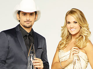 Carrie Underwood and Brad Paisley Will Continue Their Reign as CMA Awards Hosts for Show's 50th Anniversary