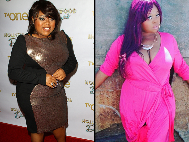 hollywood divas countess vaughn drops 3 sizes through