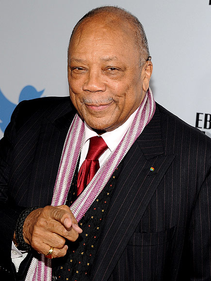 Quincy Jones 'Fine' After Being Rushed to Hospital ...