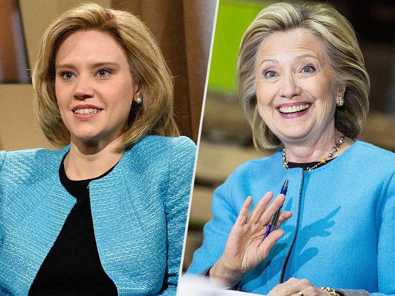 Kate Mckinnon On Meeting Hillary Clinton I 39 D Be Nervous
