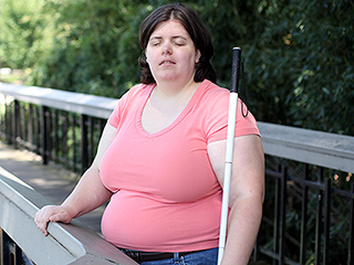 VIDEO: This Woman Claims She Blinded Herself with Drain Cleaner to Fulfill Her Life-Long Dream of Being Disabled