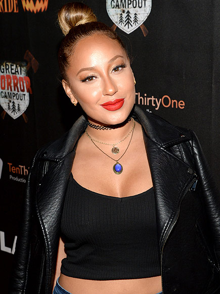 Adrienne Bailon earned a  million dollar salary, leaving the net worth at 0.5 million in 2017