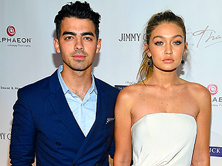 Joe Jonas and Gigi Hadid Make Their Red Carpet Debut