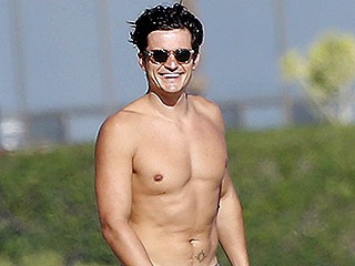 The Beach Boys! Shirtless Orlando Bloom and Friends Hit Up Malibu