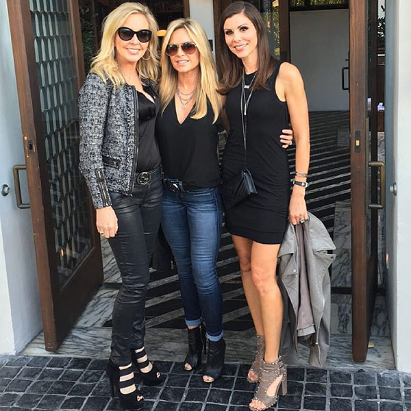 Real Housewives Of Orange County Ladies Have Night Out