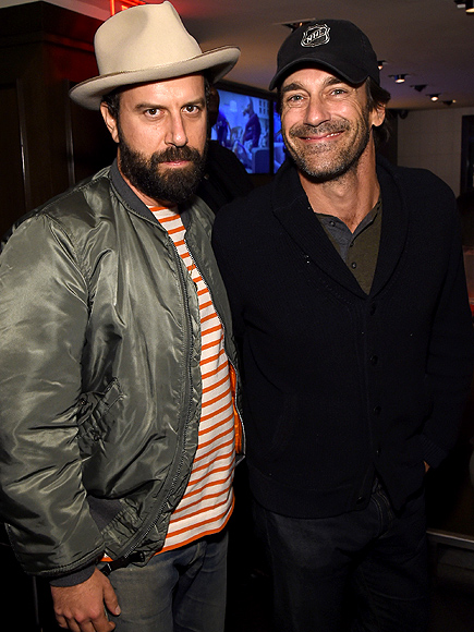 Jon Hamm Has a Guys' Night Out in N.Y.C.
