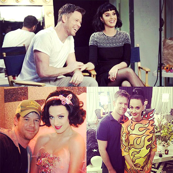 Katy Perry Writes Tribute on Instagram to Make Up Artist Jake Bailey