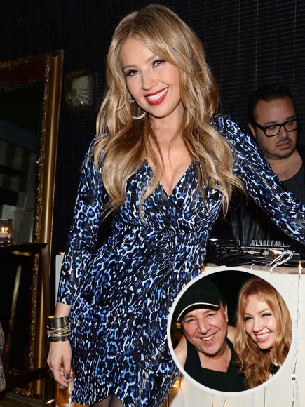 thalia on anniversary with tommy mottola macy 39 s holiday. Black Bedroom Furniture Sets. Home Design Ideas