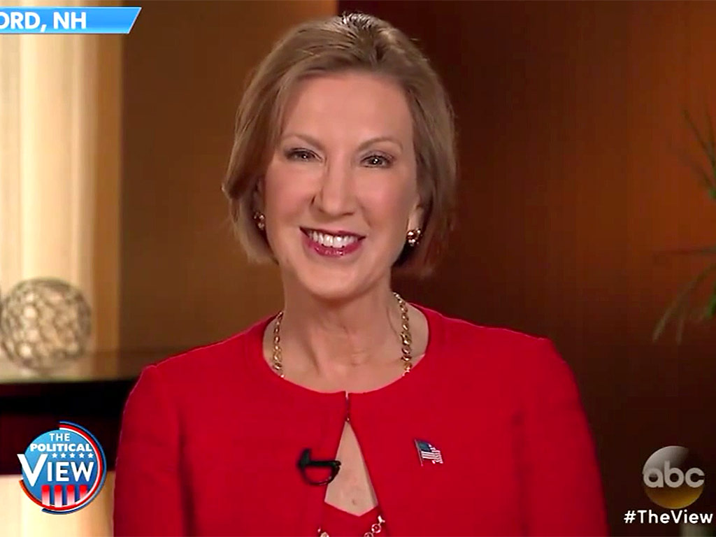 Discussion: Fiorina Responds To Rose Bowl Tweet: Can't A