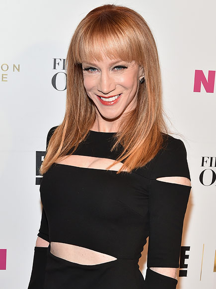 Kathy griffin like a boss tour star on dating donald trump wage gap