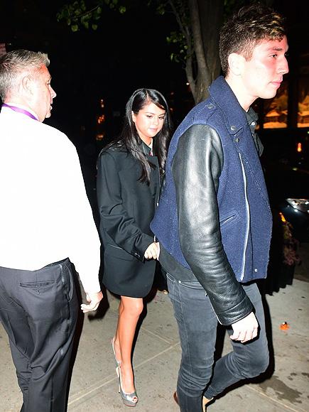 Selena Gomez Holds Hands with Gigi Hadid's Friend Samuel Krost