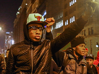Protests Take Place in Chicago After Disturbing Police Shooting Video Is Released