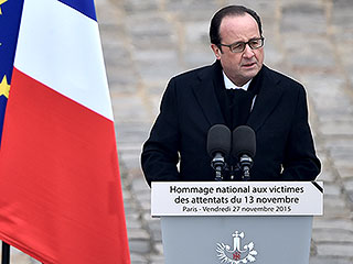 Defiance Amid Grief as French President Honors Paris Terror Victims: 'We Will Fight to the End, and We Will Win'