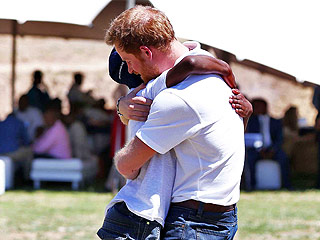 Prince Harry Reunited with African Orphan Friend at Charity Center Honoring Princess Diana: 'We Shared a Similar Feeling of Loss'