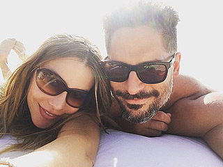 Joe Manganiello Gets 'Selfied' by Wife Sofia Vergara on Beach Honeymoon