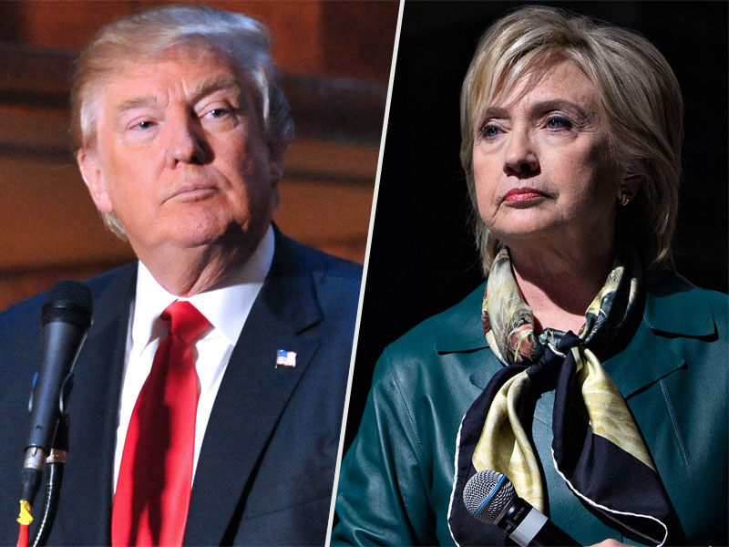 Clinton, Sanders and Trump Backers Show Their Support Ahead of Acela Primary