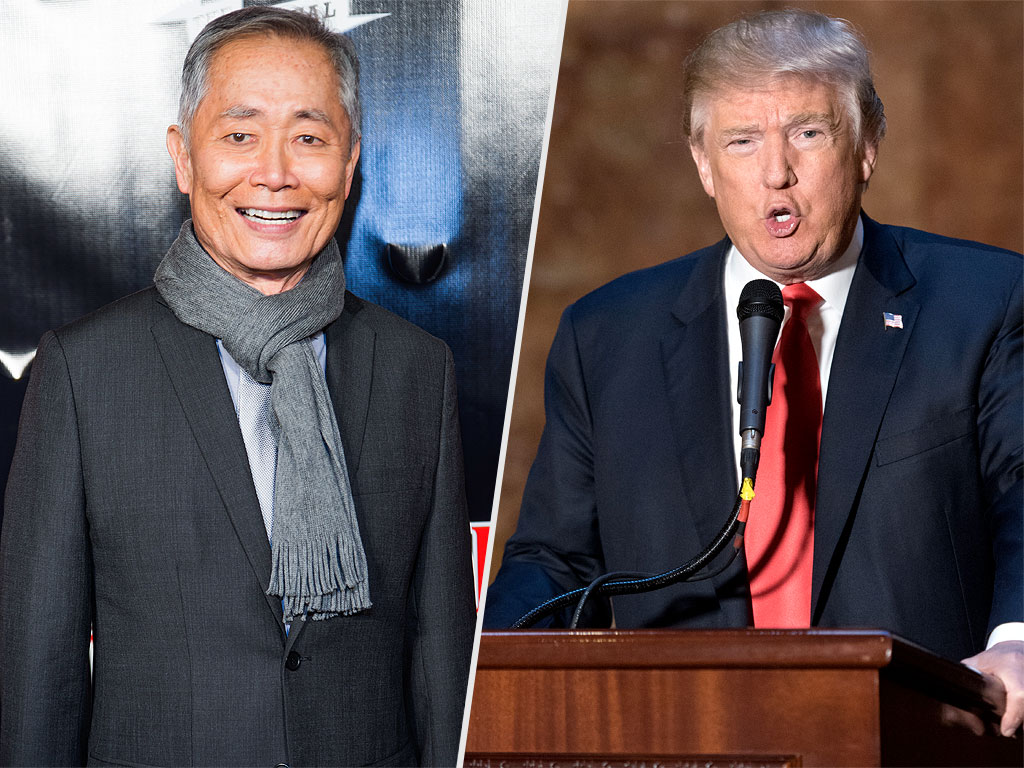 George Takei Invites Donald Trump to His Broadway Show 'Unless You're Chicken'
