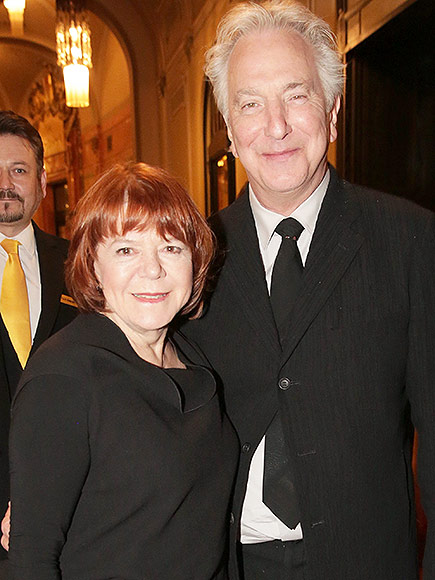 Alan Rickman and Rima Horton Are Married