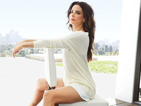 Cover Story First Look: Sandra Bullock Is the World's Most Beautiful!