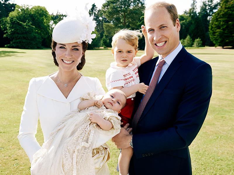 Princess Charlotte's Christening Portraits