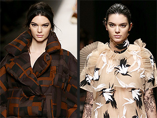 Kendall Jenner's Modeling Month Continues: From London to Milan, What's Her Best Runway Look?