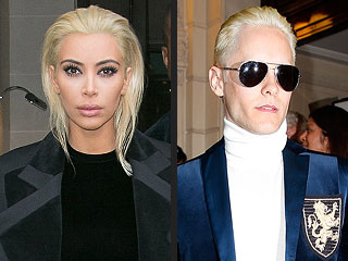 Find Out Which TV Star Just Called Kim Kardashian's Platinum Hair 'Jarring'
