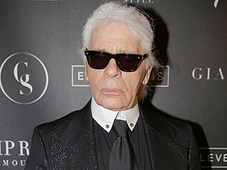 Karl Lagerfeld Has an Anti-Selfie Bodyguard