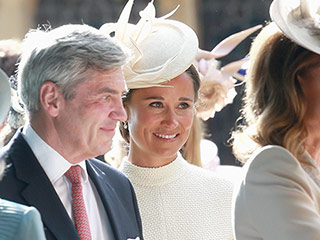 Pippa Middleton Matches with Sister Kate and Princess Charlotte's Christening