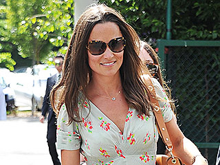 Style Ace! Pippa Middleton Brings Her Sartorial Skills to Wimbledon in Flirty Floral Dress