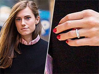 Allison Williams Debuts Her Gorgeous Wedding Ring: See the First Photo