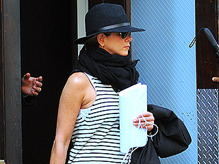 Jennifer Aniston Channels Justin Bieber in Drop-Crotch Cargo Pants