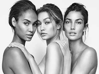Nude and Shoe'd! Joan Smalls, Gigi Hadid and Lily Aldridge Go Naked in New Stuart Weitzman Campaign