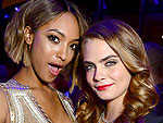Breast Friends Forever! Cara Delevingne & Her A-List Pals Love to Get Handsy