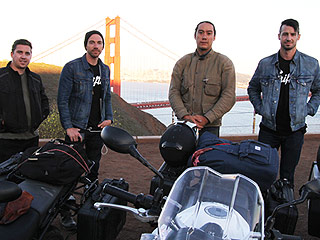 Inside Tim Lopez of the Plain White T's Motorcycle Bachelor Party Roadtrip (PHOTOS)