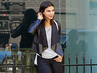 Stars Are Loving: Draped Moto Jackets (and This One's Affordable!)