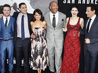 San Andreas Costar on the Rock: 'He Took Me Under His Massive Wing'
