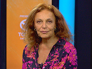 VIDEO: Diane Von Fürstenberg Isn't Just a Fashion Expert, She's a Foodie Too!
