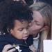 Blue Ivy Gets a Smooch from Gwyneth Paltrow While Watching Mom Beyoncé Rock Out at Super Bowl Halftime Show