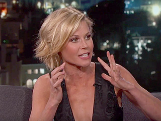 Watch Julie Bowen Try to Pick Out Her Sons from a Group – While Blindfolded!