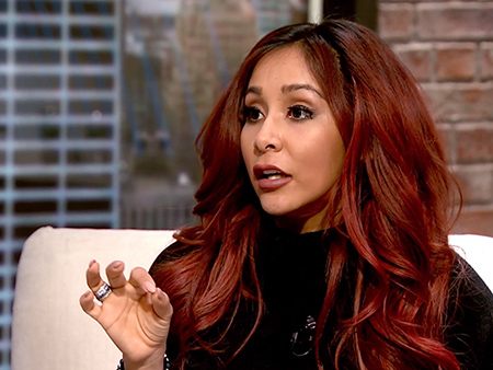 WATCH: Nicole 'Snooki' Polizzi Advises Ginger Zee About 'Judgy' and 'Rude' Moms: 'We Should Warn You About the Mom World!'