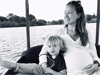 Olivia Wilde Shares Sweet Throwback Photo with Son Otis: Baby Girl Could Be Here 'Any Day Now'