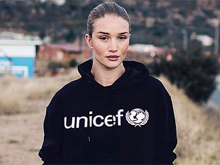 Rosie Huntington-Whiteley Takes Inspiring Trip to Visit Local Families in Africa