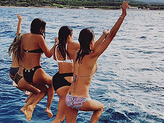 Celebs on Vacation: Olivia Munn Takes on Tahoe, Chris Hemsworth Strikes a (Shirtless!) Pose in Australia, and More!