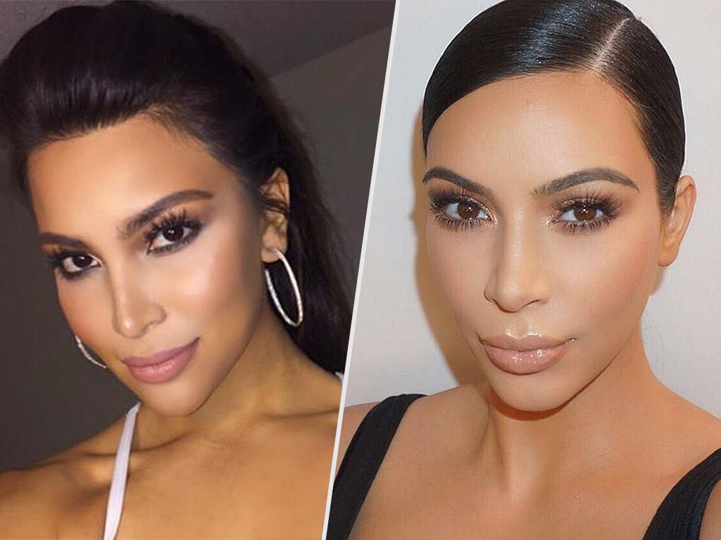 Kim Kardashian Meet Her Look Alike Kamilla Osman People Com