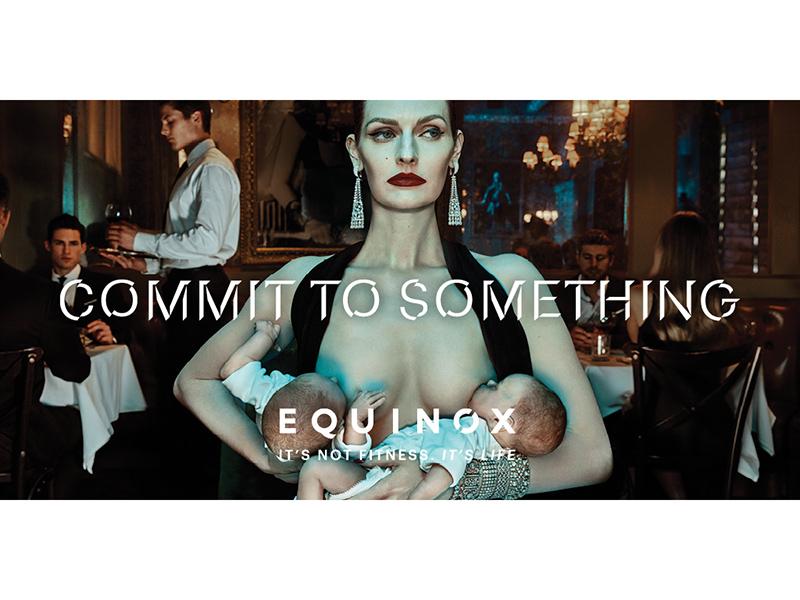 Equinox Ad Features Woman Breastfeeding in Public