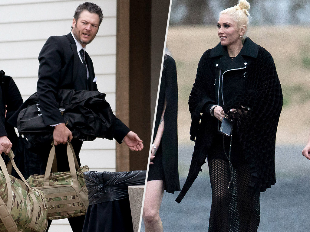 Blake Shelton and Gwen Stefani at Wedding in Nashville