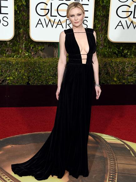 Golden Globes 2016: Kirsten Dunst Talks Gaining Weight for Fargo Role