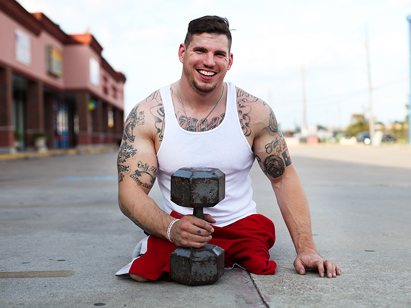 How One Double Amputee Is Making CrossFit Accessible for Anyone